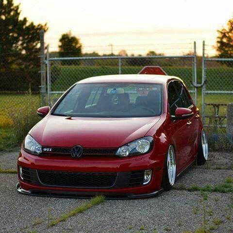 Lowered Mk6 Gti Car Volkswagen Mk6 Gti