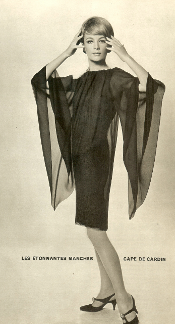 France 1960s Fashion Women Fashion Photo Pierre Cardin