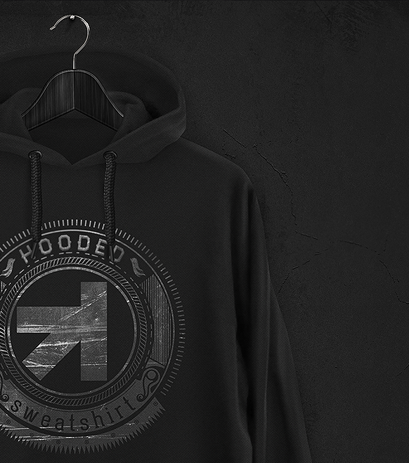 clean and super easy to use realistic hoodie sweatshirt mockup