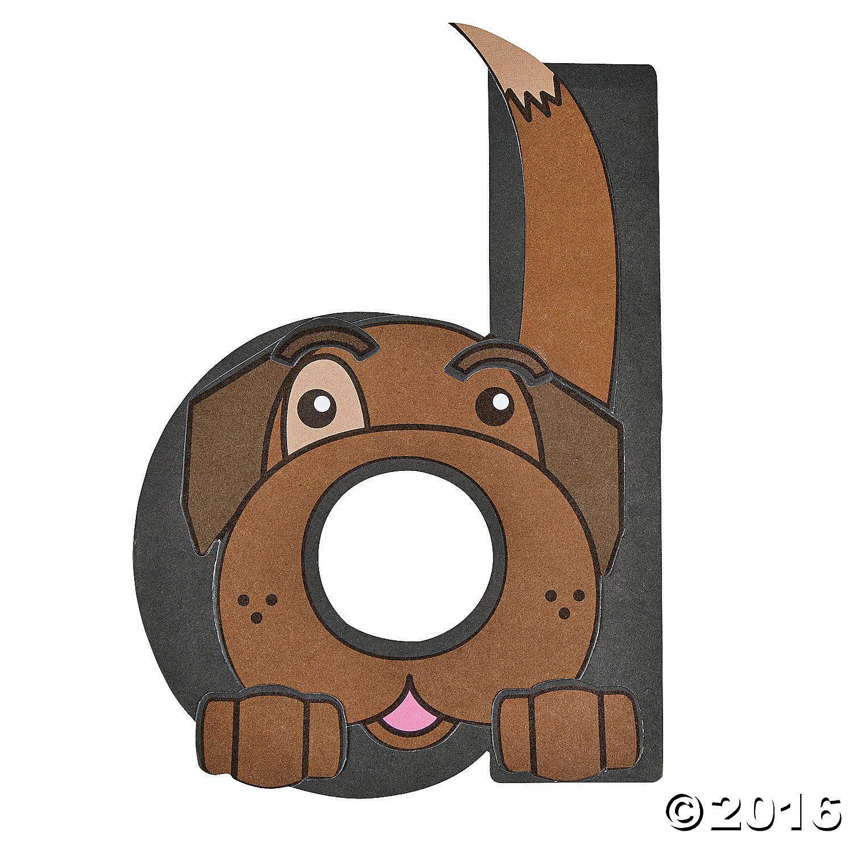 D Is For Dog Letter D Craft Kit