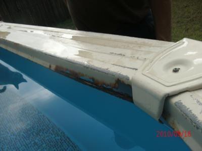 Swimming Pool Top Ledges Or Rails