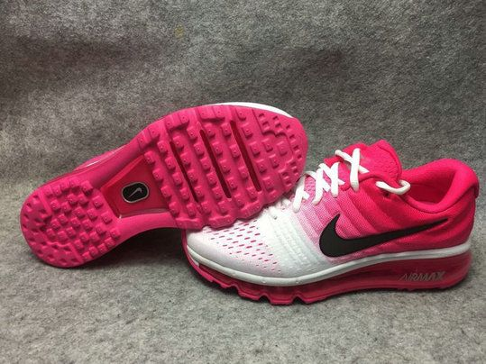 f163efb368 ... sale latest and newest nike air max 2017 peach pink white black 849560  106 womens girls