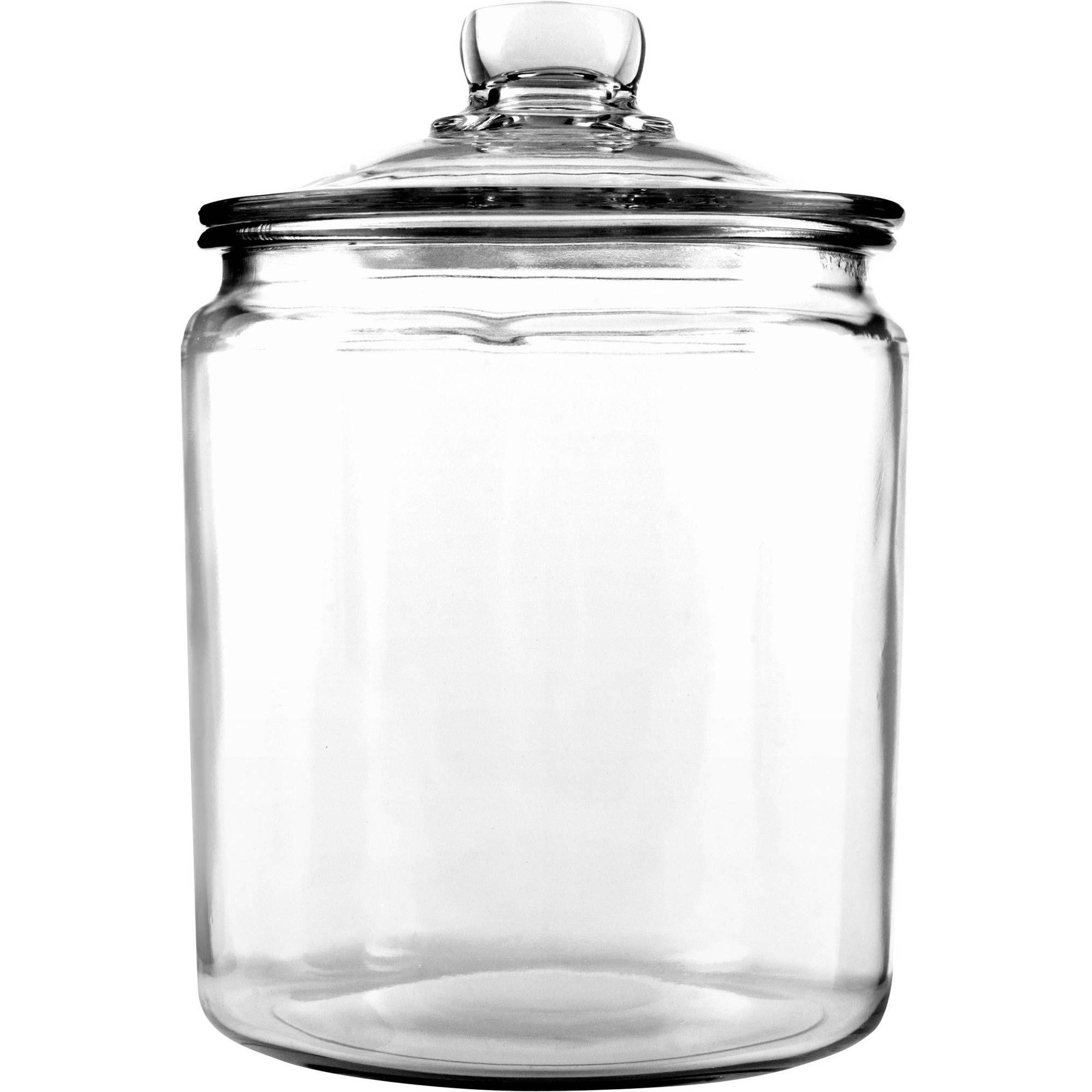 Glass storage containers jar storage
