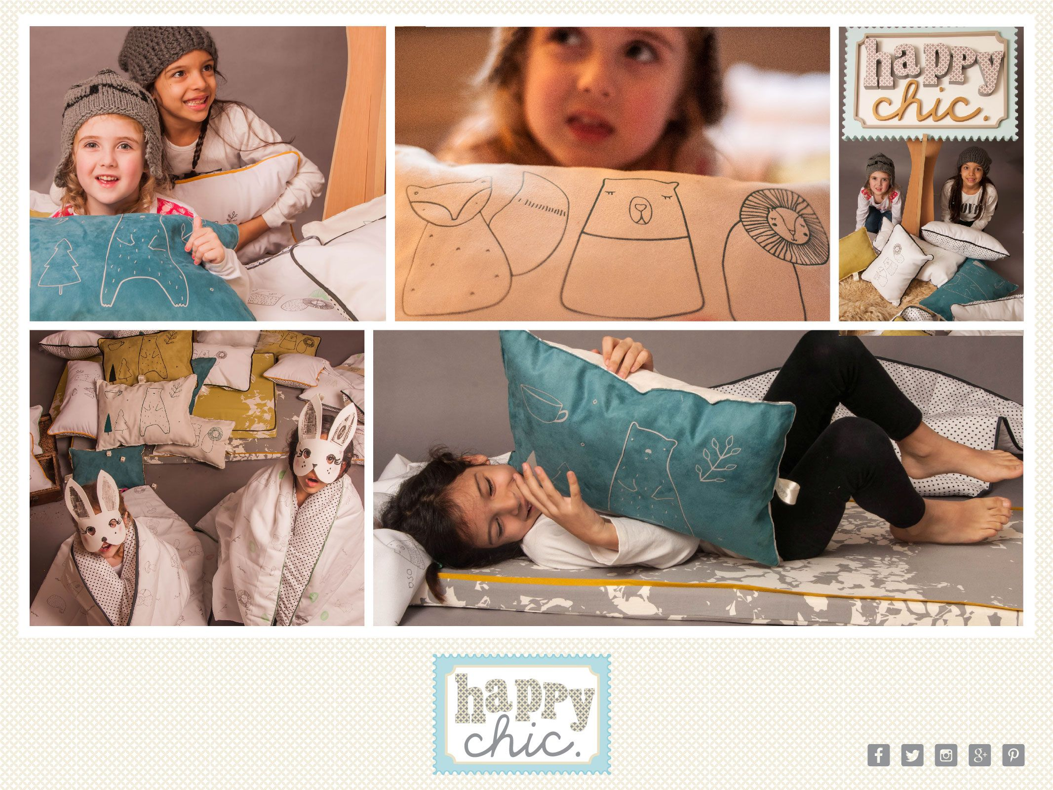 HAPPY CHIC Deco Styling for Kids...Tiny Little Collections