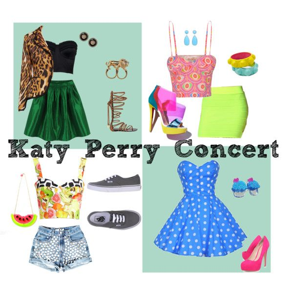 """Katy Perry Concert"" by daniellowitz on Polyvore 