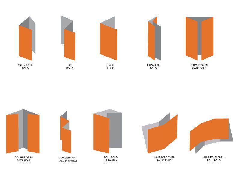 a4 amazing brochure folds - Szukaj w Google bk Pinterest