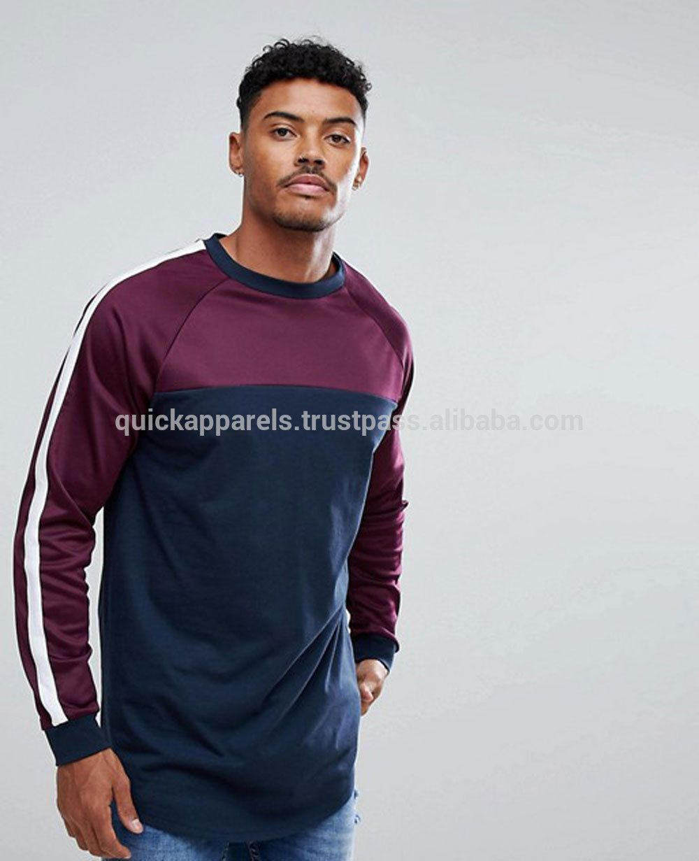28410d98a1e7 wholesale China Clothing Manufacturer Custom Men Long Sleeve T shirt, US $  5 - 8 / Piece, OEM service, Pakistan, Quick Apparels.Source from QUICK  APPARELS ...
