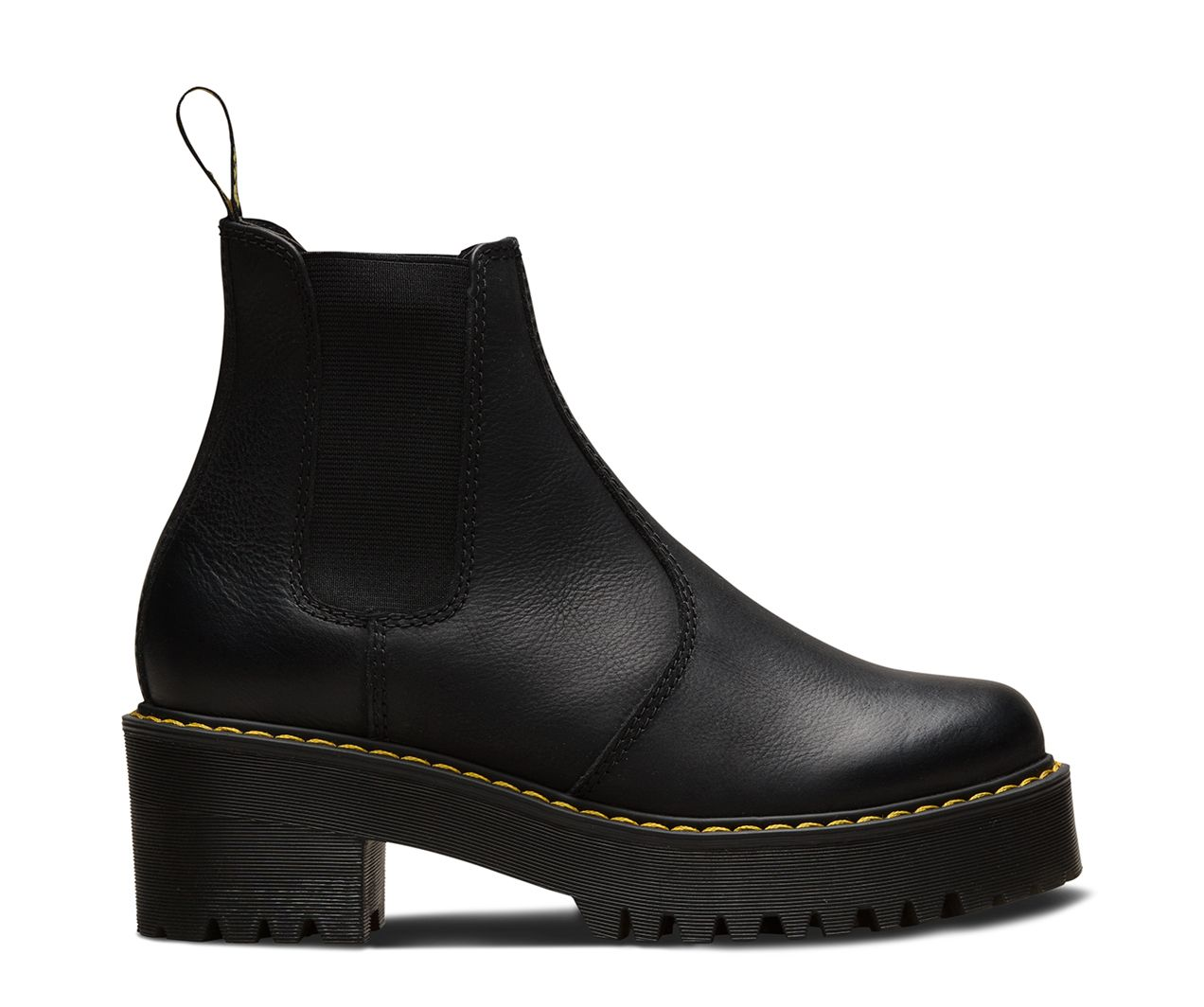The Rometty is a women s Chelsea boot that strikes the perfect balance  between femininity and the tough, rebellious Dr. Martens spirit. d0957efe15