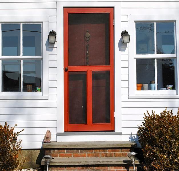 Front Screen Door Front Door With Screen Screen Door Windows Doors