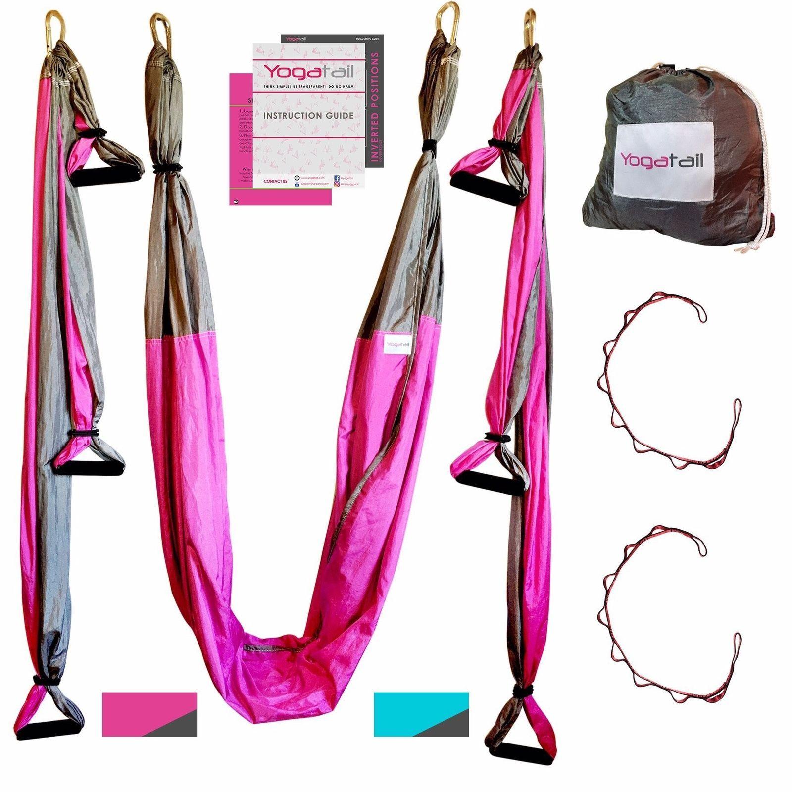 Aerial yoga swing gym strength antigravity yoga hammock