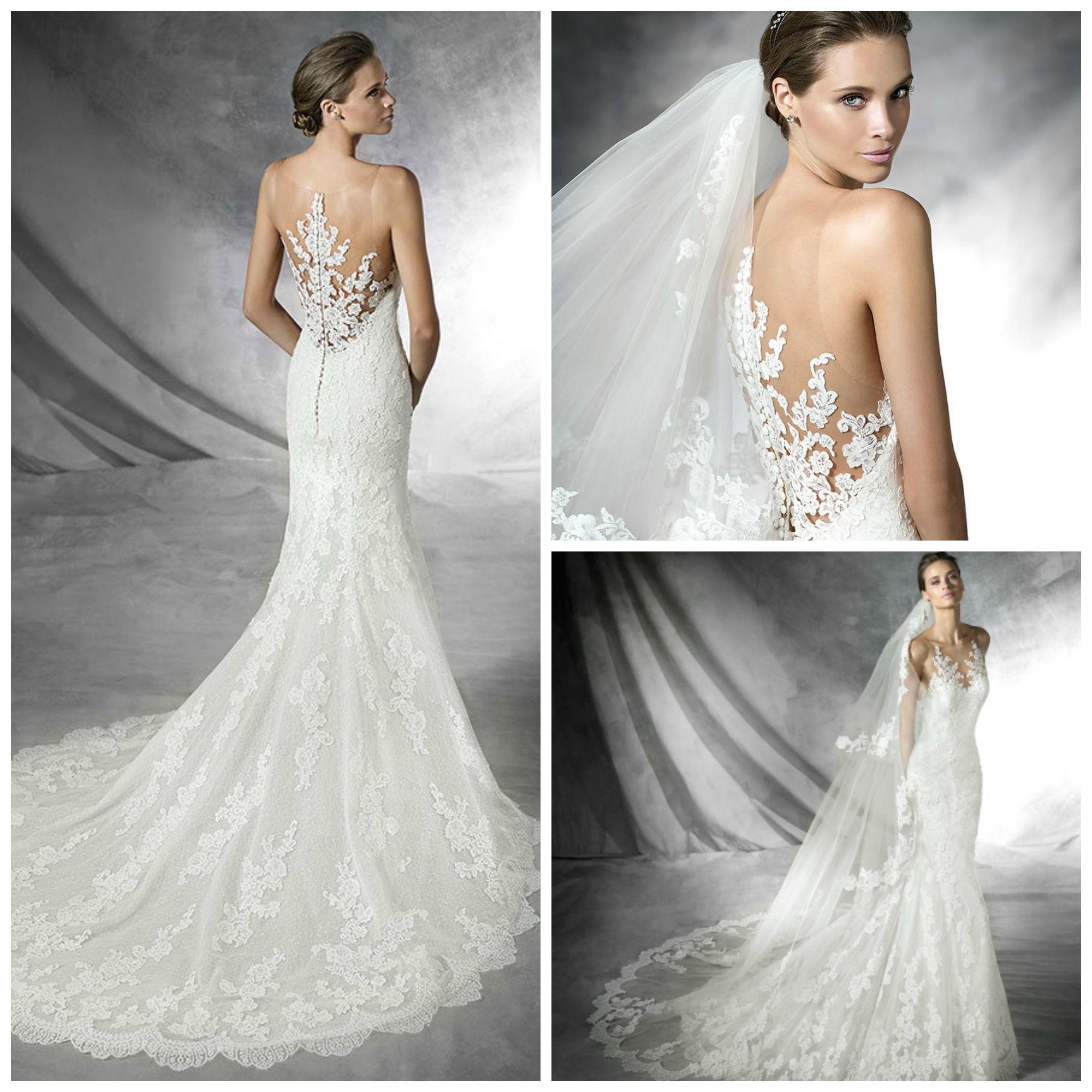 Pronovias 2016 - Placia Wedding Dress (4) - Confetti.co.uk | Bridal ...