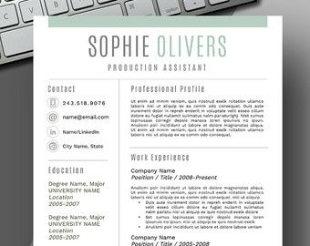 Creative Resume Template From Resume Foundry  Check Out Https