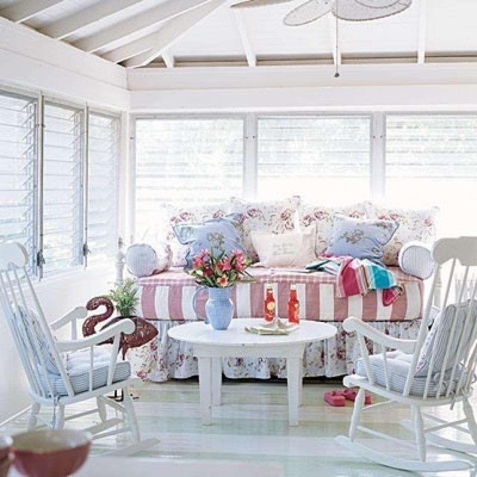 Key Interiors By Shinay Cottage Living Room Design Ideas: Come Arredare La Veranda In Stile Provenzale