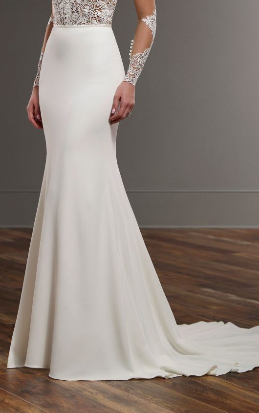 Martina Liana Sanja skirt. Wedding dress separates. Find this dress at Janene's Bridal Boutique located in Alameda, Ca. Contact us at (510)217-8076 or email us info@janenesbridal.com for more information.
