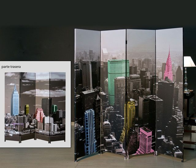biombo New york home decor Pinterest Divider Room ideas and Room