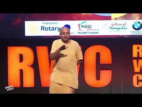 Watch this inspirational speech by spiritual guru and life coach sri Gaur Gopal Das prabhu ji.