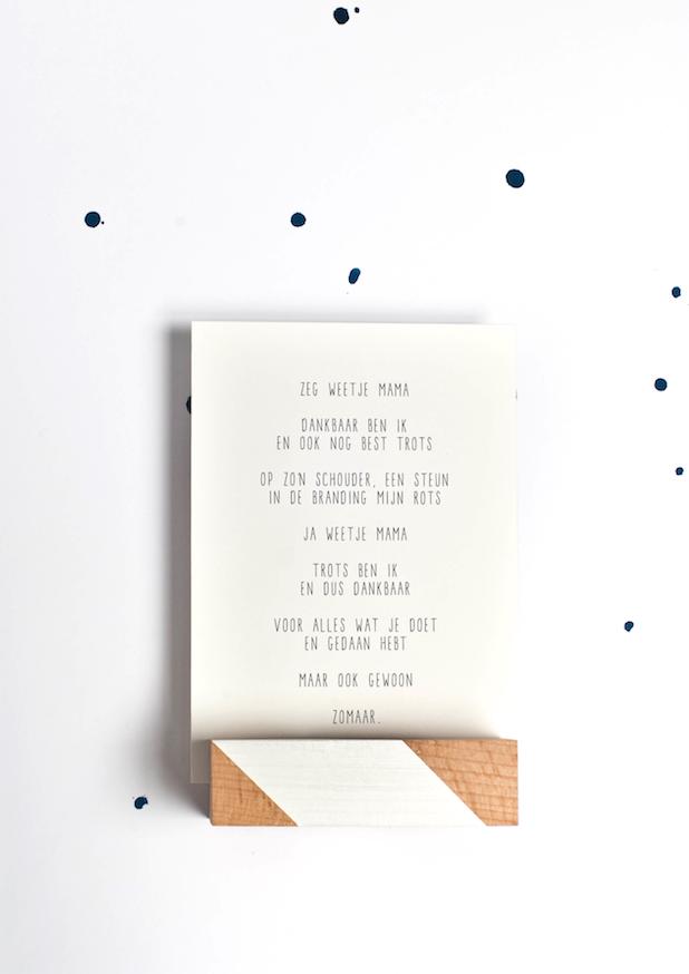 Moederdag Cadeau Idee Kaart Voor Mama Tekstje Voor Moeder