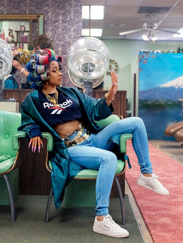 Cardi B Nails It In Reebok Campaign