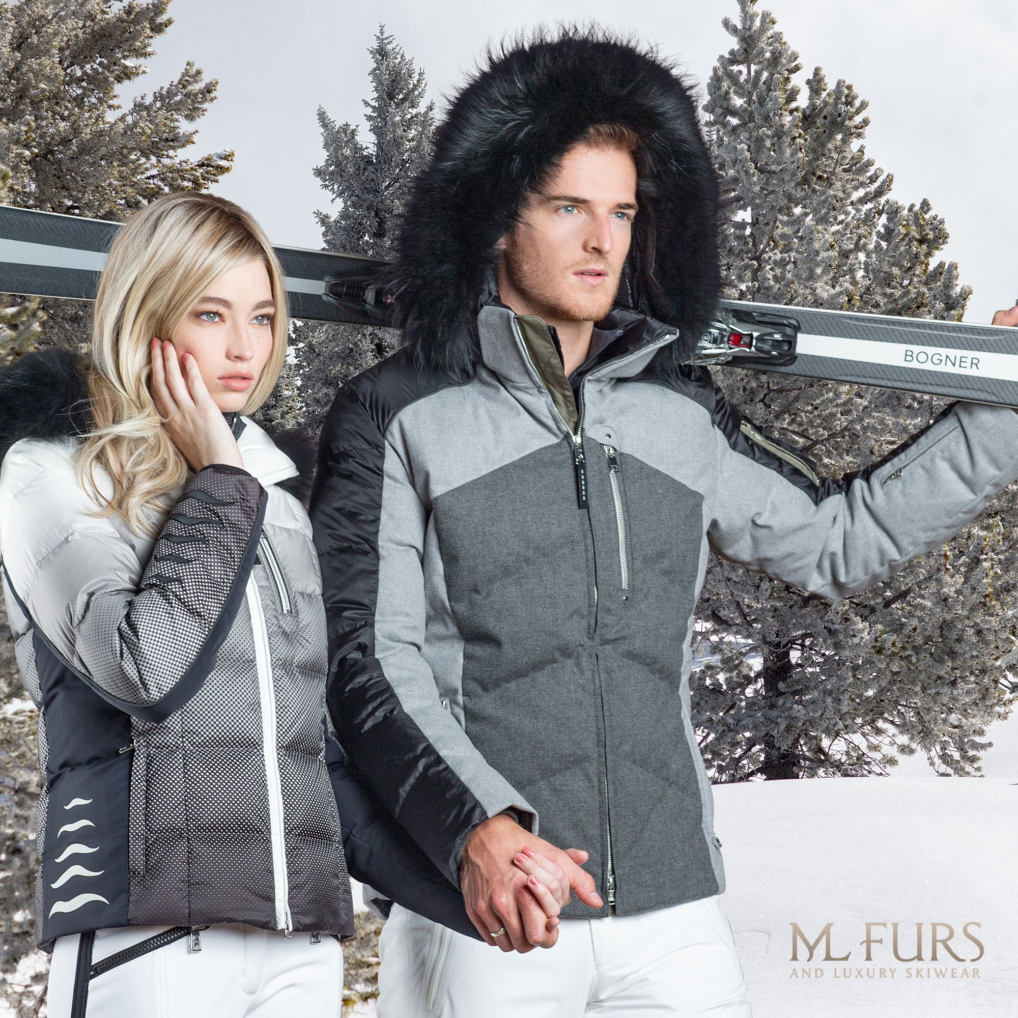 Pin on Luxury Ski Wear