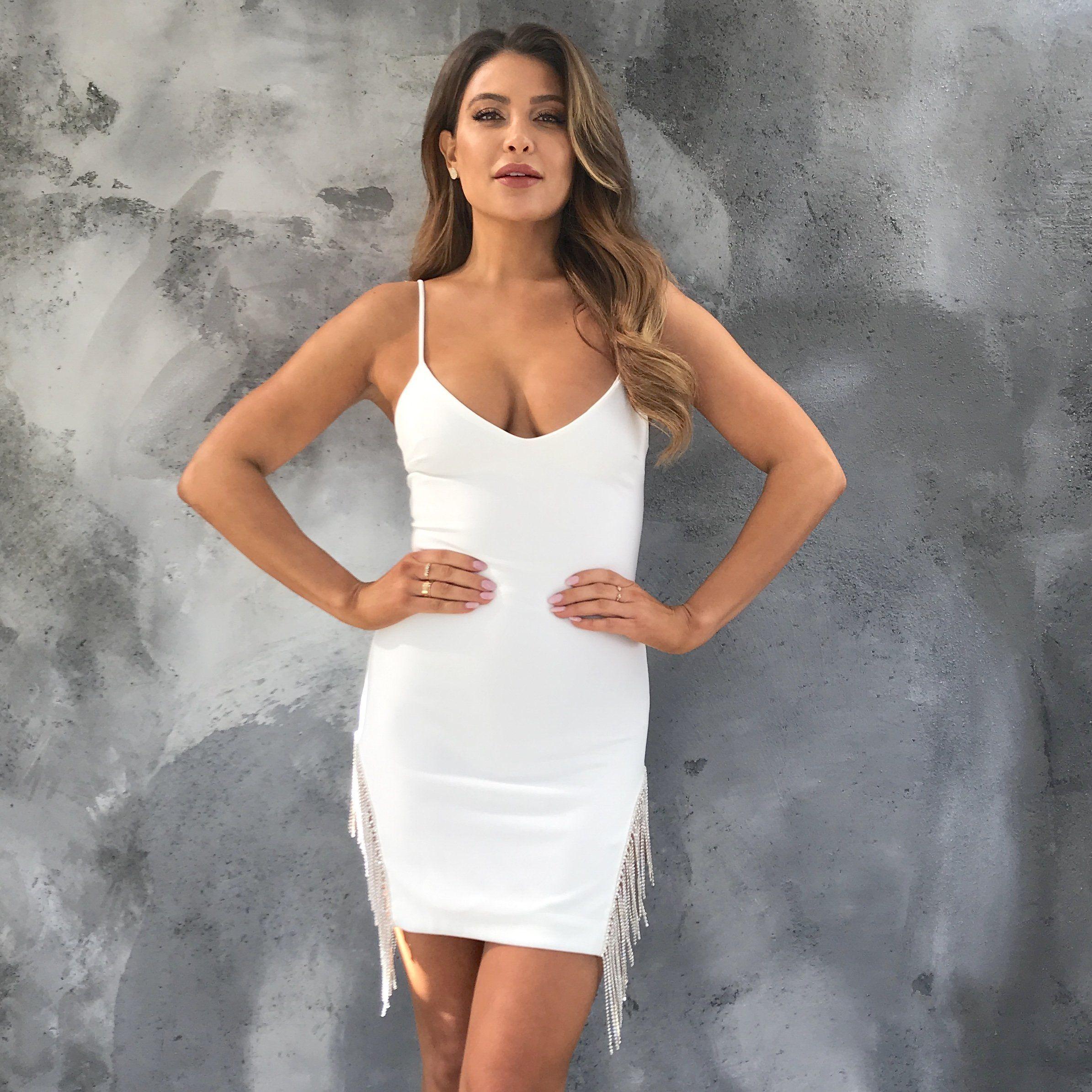 Dancing Queen Diamond Bodycon Dress Bachelorette Party Outfit Bachelorette Dress White Bachelorette Dress [ 2389 x 2389 Pixel ]