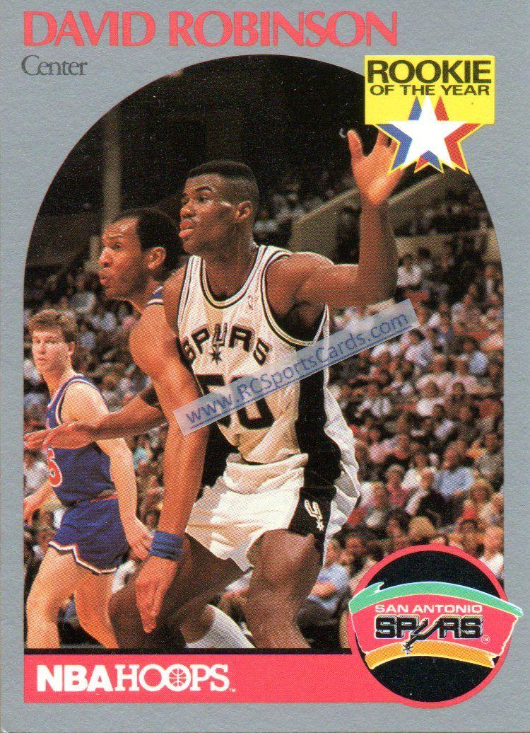 199091 david robinson spurs itmn1155 1 hoops card 270