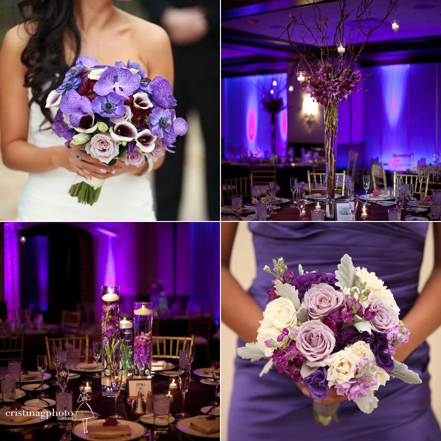 Fall Wedding Flowers Purple Wedding Flower Trends 2012 Photo Chick ...