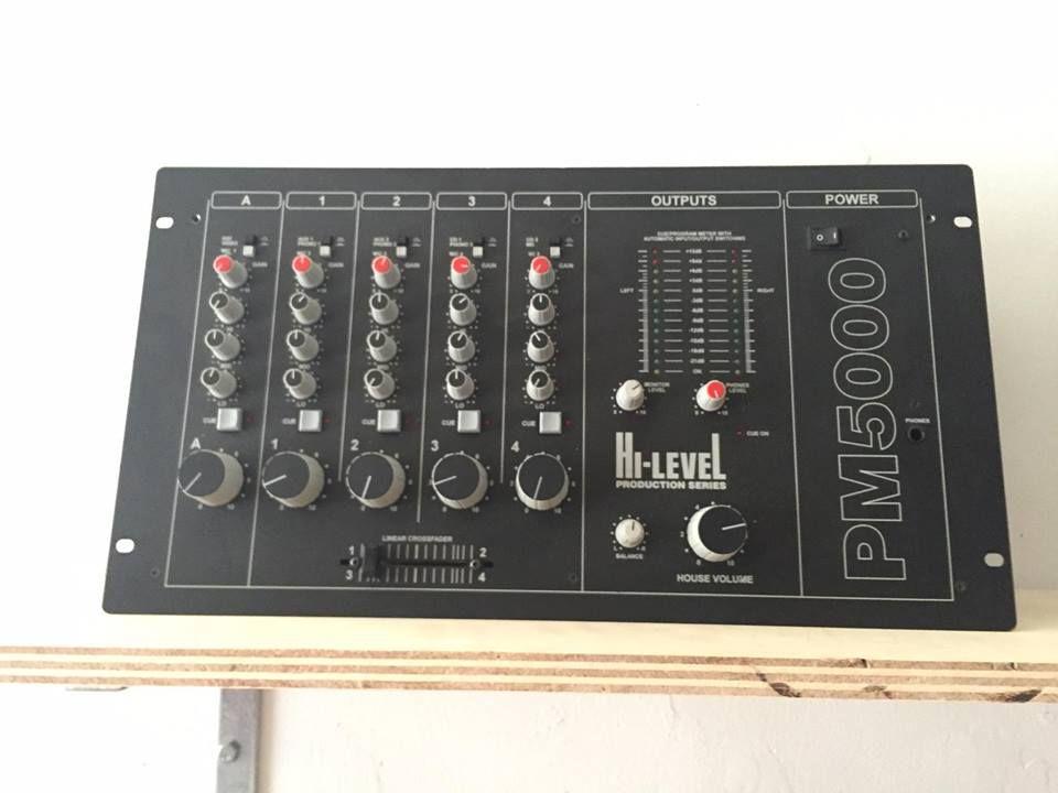 Hi Level Pm5000 Dj Equipment Dj Gear Mixers
