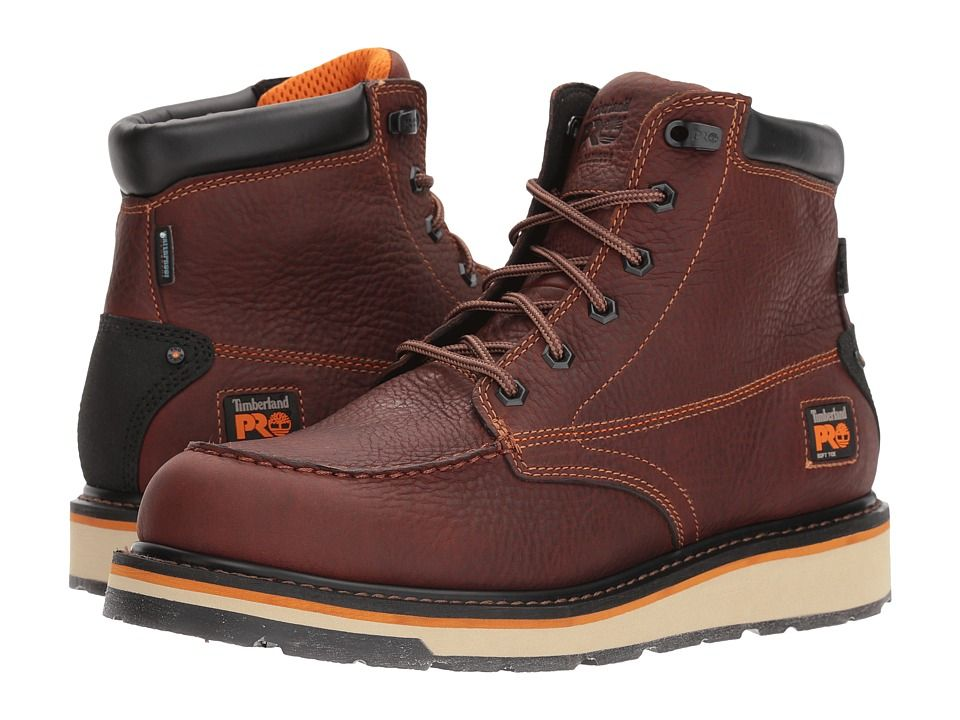Timberland Pro Gridworks 6 Moc Soft Toe Waterproof Men S