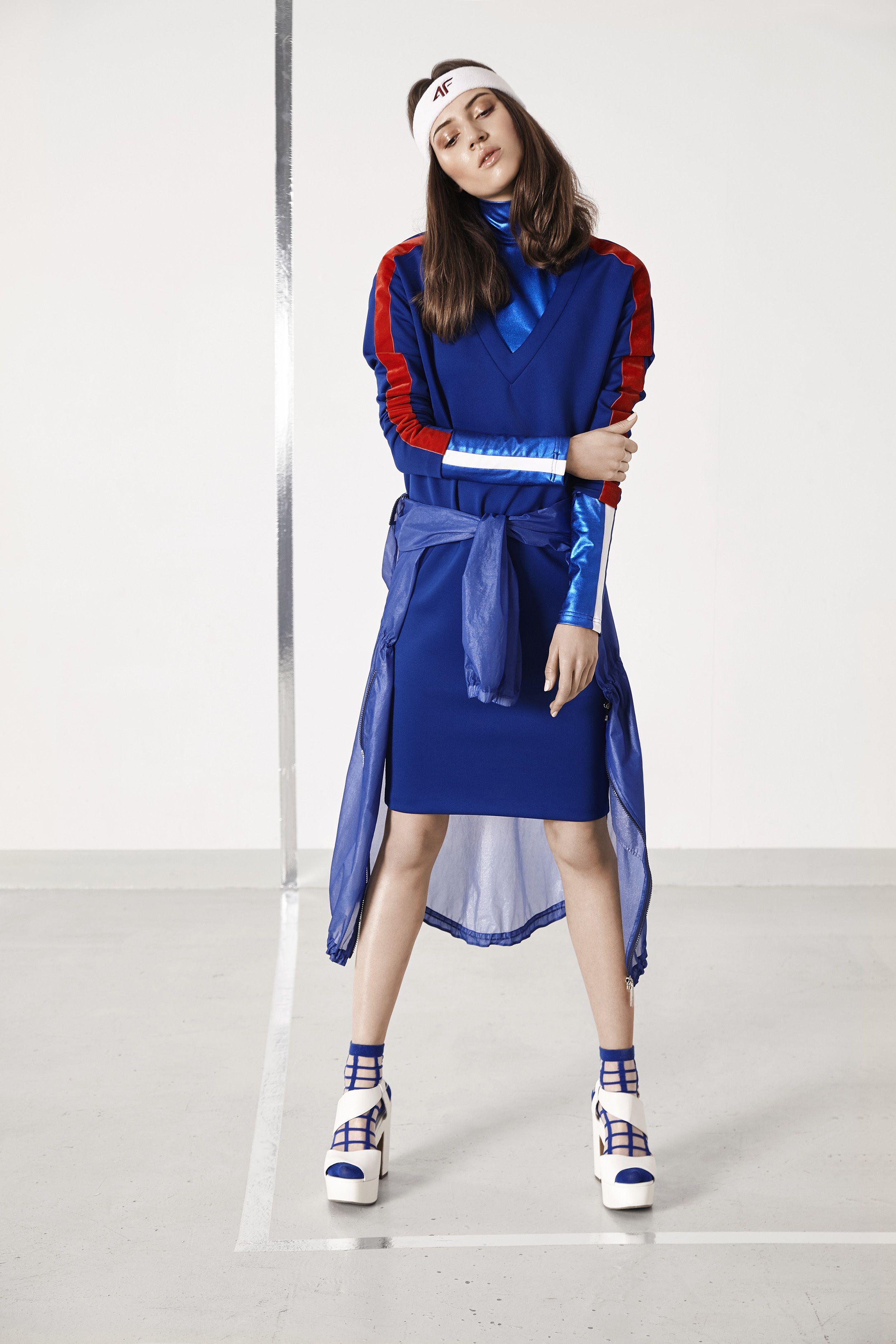 Sesja Wizerunkowa Ss17 Ranita Sobanska Fashion Shirt Dress Retro Sport