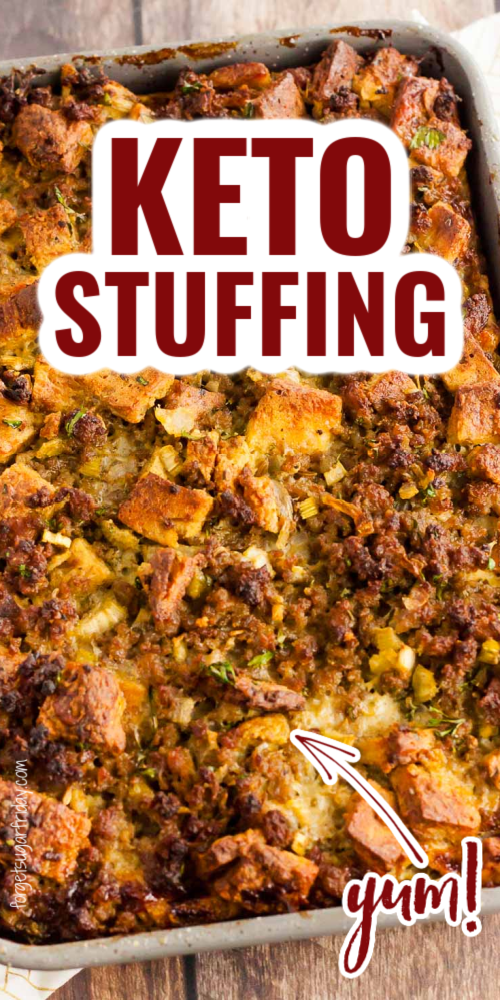 Yummy KETO Stuffing recipe! Great for the holidays