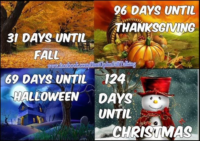 How Many Days Between Thanksgiving And Christmas 2021