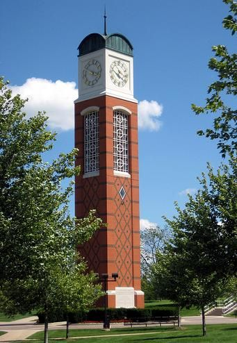 Grand Valley State University Clock Tower Grand Valley State Grand Valley State University Grand Valley