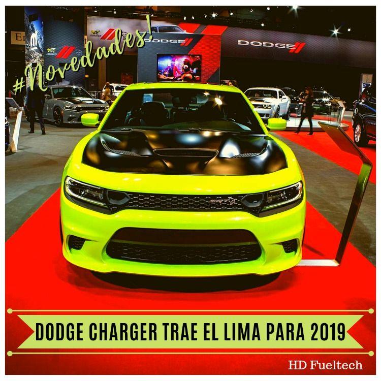 Hd Fueltech Dodge Trae El Lima Con El Nuevo Charger 2019 Dodge