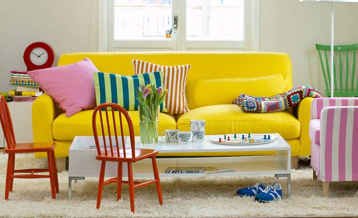 Как добавить оригинальности мебели IKEA Диванные подушки