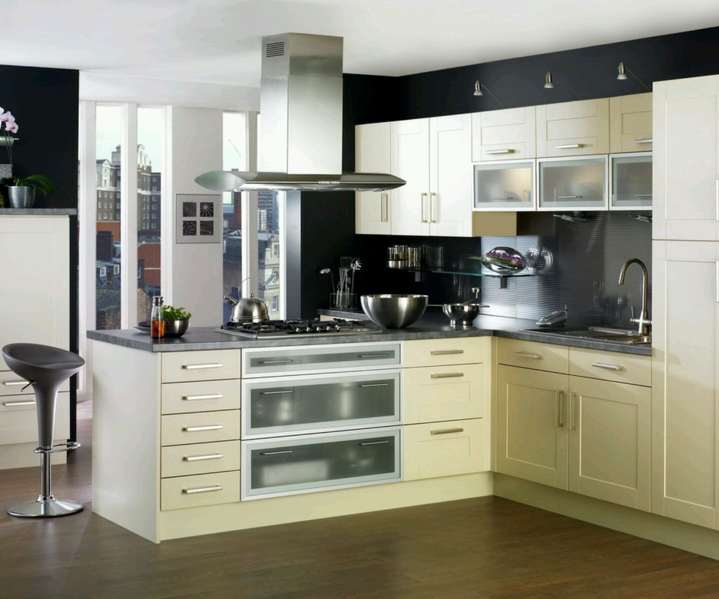 Home Designs Latest Kitchen Cabinets Designs Modern Homes Unique - New homes kitchen designs