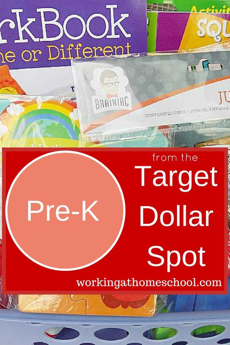 Preschool Curriculum Ideas from the Target Dollar Spot