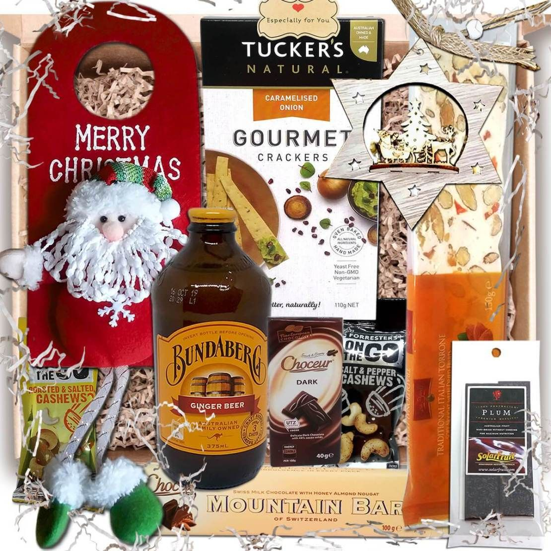 Gourmet Gifts for Christmas Decorations, Food & Drink