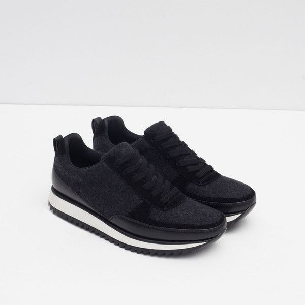 Zara Combined Sneakers | Mom shoes