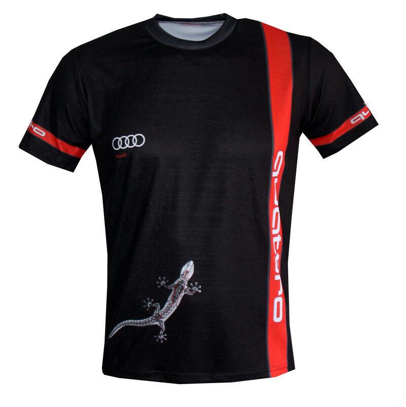 Audi S Line Quattro Dryfit Graphic T Shirt DTM Racing Apparel