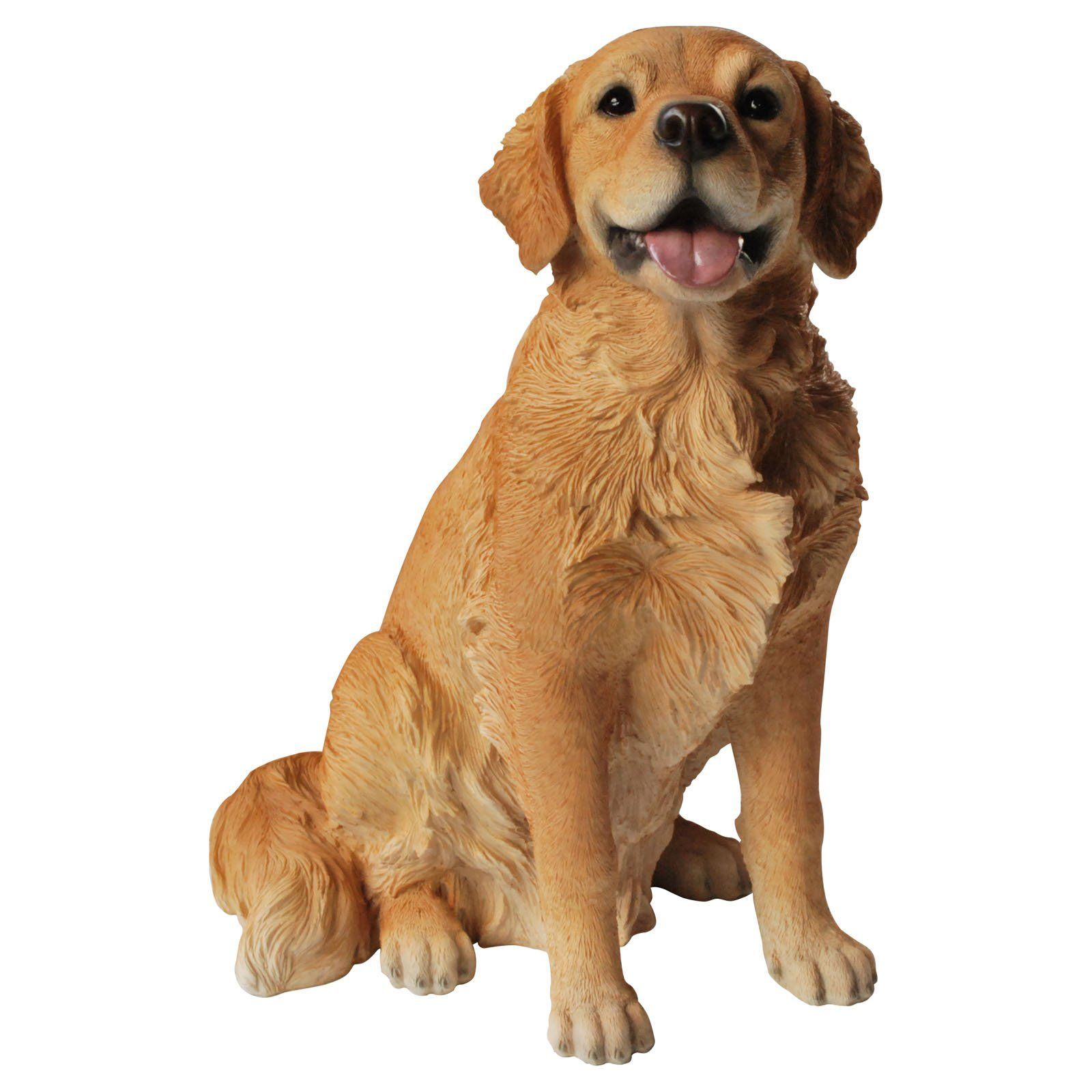 Have To Have It Vivid Arts Sitting Golden Retriever Statue