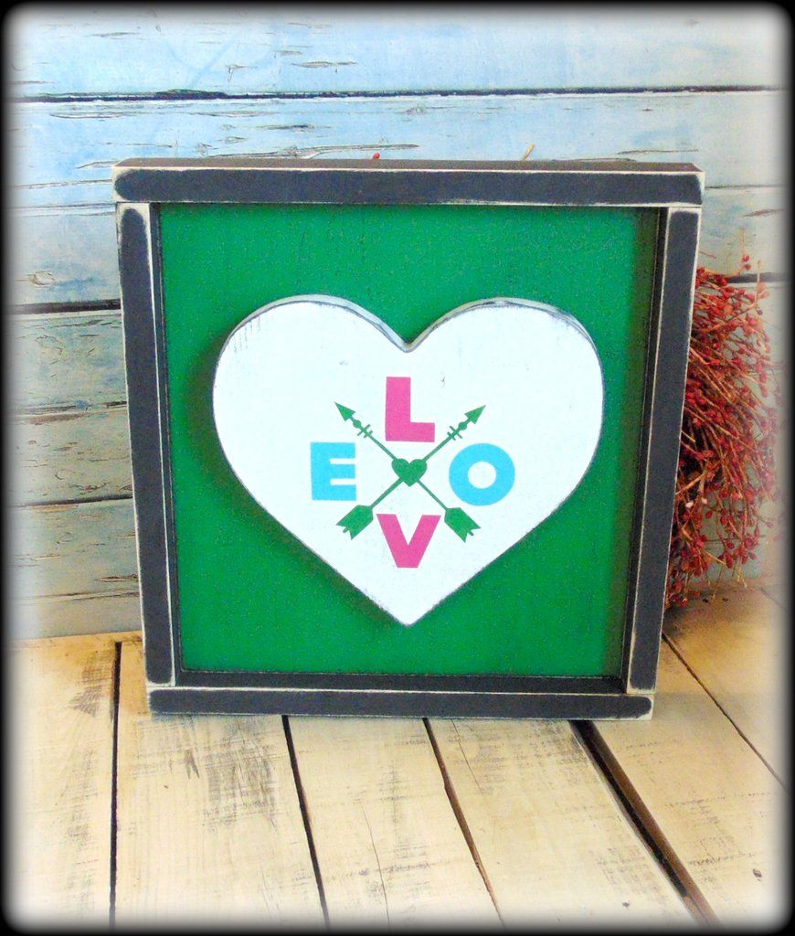 Love Decor Signs Cool Handmade Wooden Sign Love Decor Valentines Day Gift Boho Style Decorating Design
