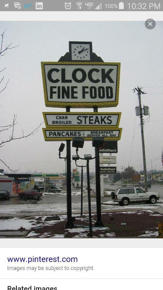 Clock Restaurant On Columbia In Battle Creek Michigan