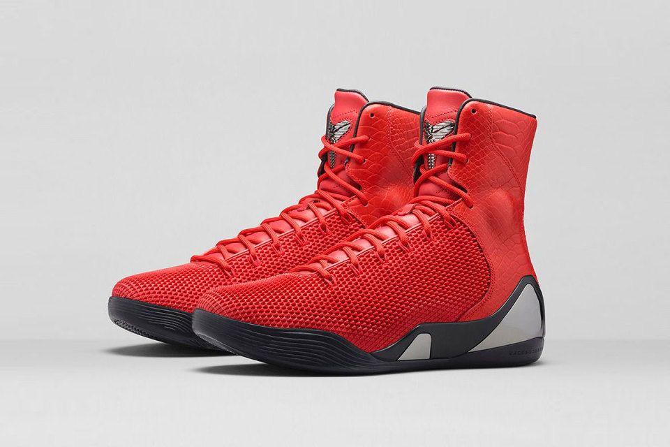 1495fcf92e8 Fashion Nike Kobe 9 KRM EXT Red Mamba Challenge Red Challenge Re ...