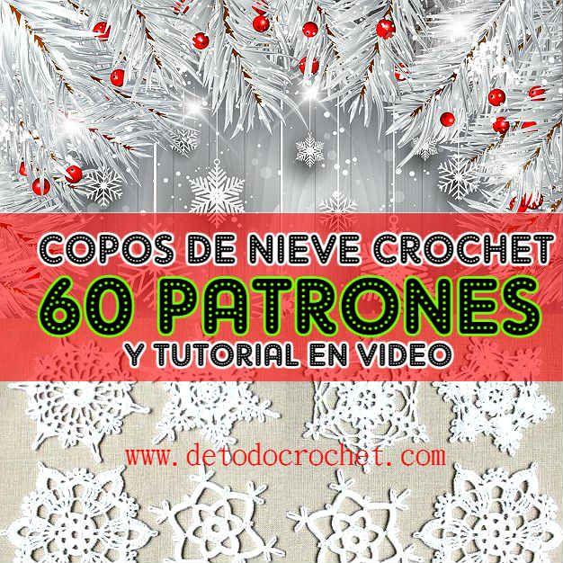 Todo crochet: Navidad | Crochet y Dos Agujas | Pinterest | En ...
