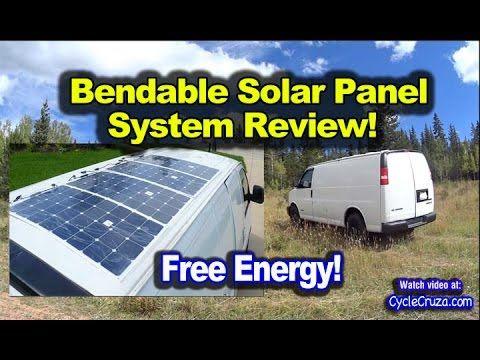 Stealth Solar Power Bendable Solar Panels On Van Review Bug Out Vehicle Solar Panels Roof Solar Panels Solar