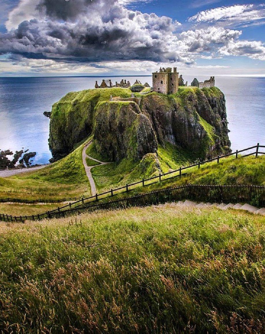 dunnottar castle scotland castles pinterest scotland castle