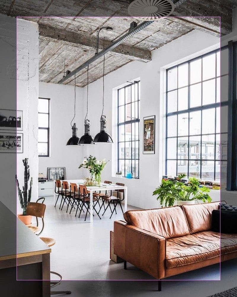 Appealing Interior Apartment Decorating 902 In 2020 Industrial Style Living Room Modern Leather Living Room Furniture Minimalist Living Room
