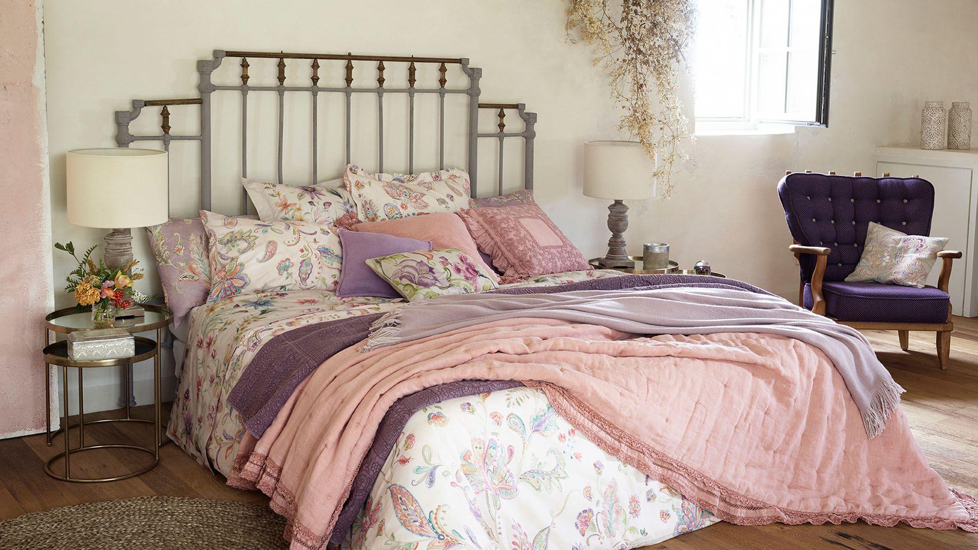 Crea ambientes acogedores con la ropa de cama, baño, mesa ...