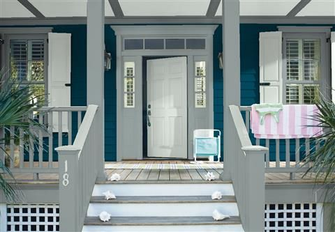 Look At The Paint Color Combination I Created With Benjamin Moore. Via  @benjamin_moore.
