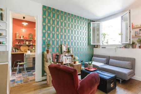 Schau Dir dieses großartige Inserat bei Airbnb an: Arty and cosy left bank apartment in Paris